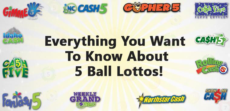 5 Ball Lottos