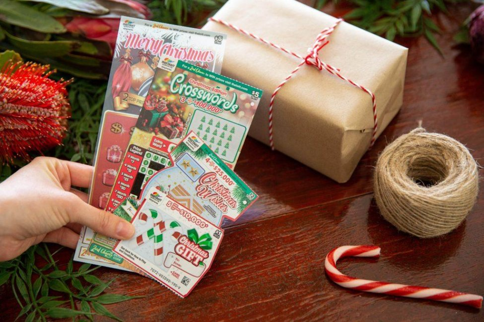 Lottery Tickets Christmas Gift